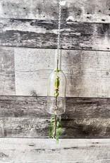 Glass Bottle Wind chime - Green