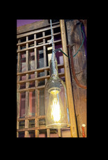 Purple Pigeon Treasures Bottle Light Clear (Bulb Sold Separately)