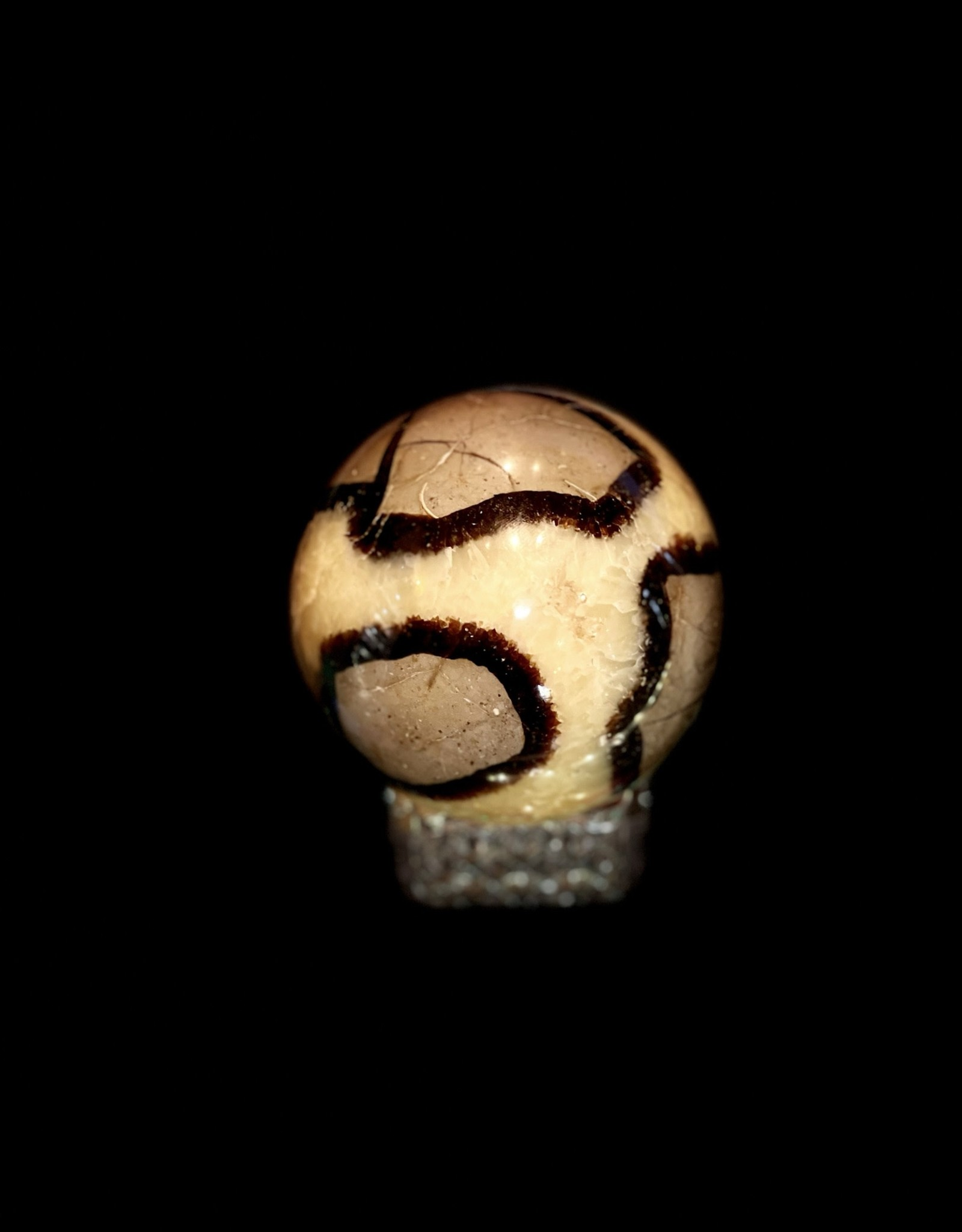 Crystals - Septarian Sphere - Med