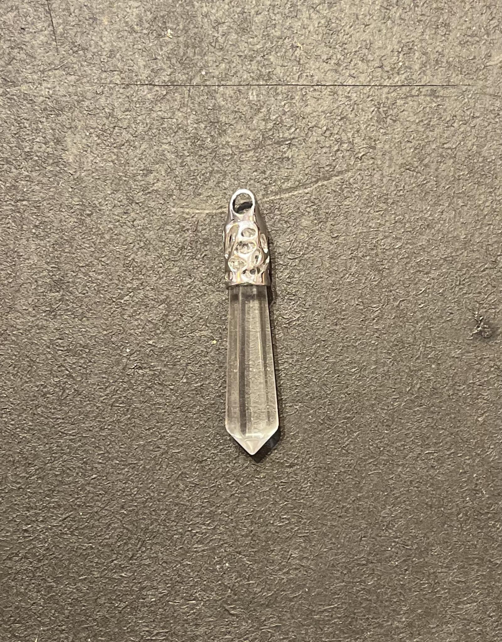Crystals - Clear Quartz Pendant