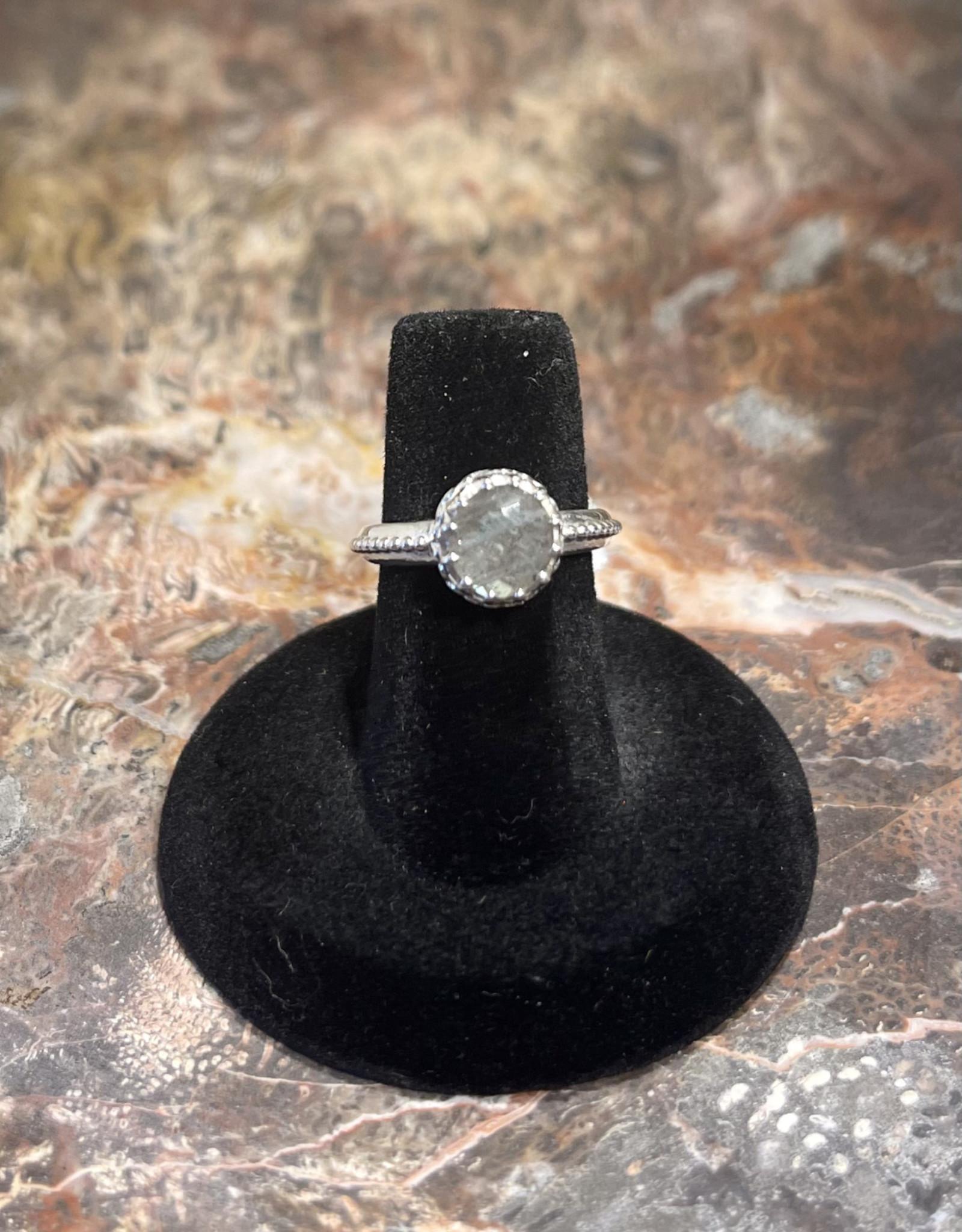 Jewelry - Labradorite Ring .925 Sz 6.5