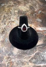 Jewelry - Red Almandine .925 Sz 8