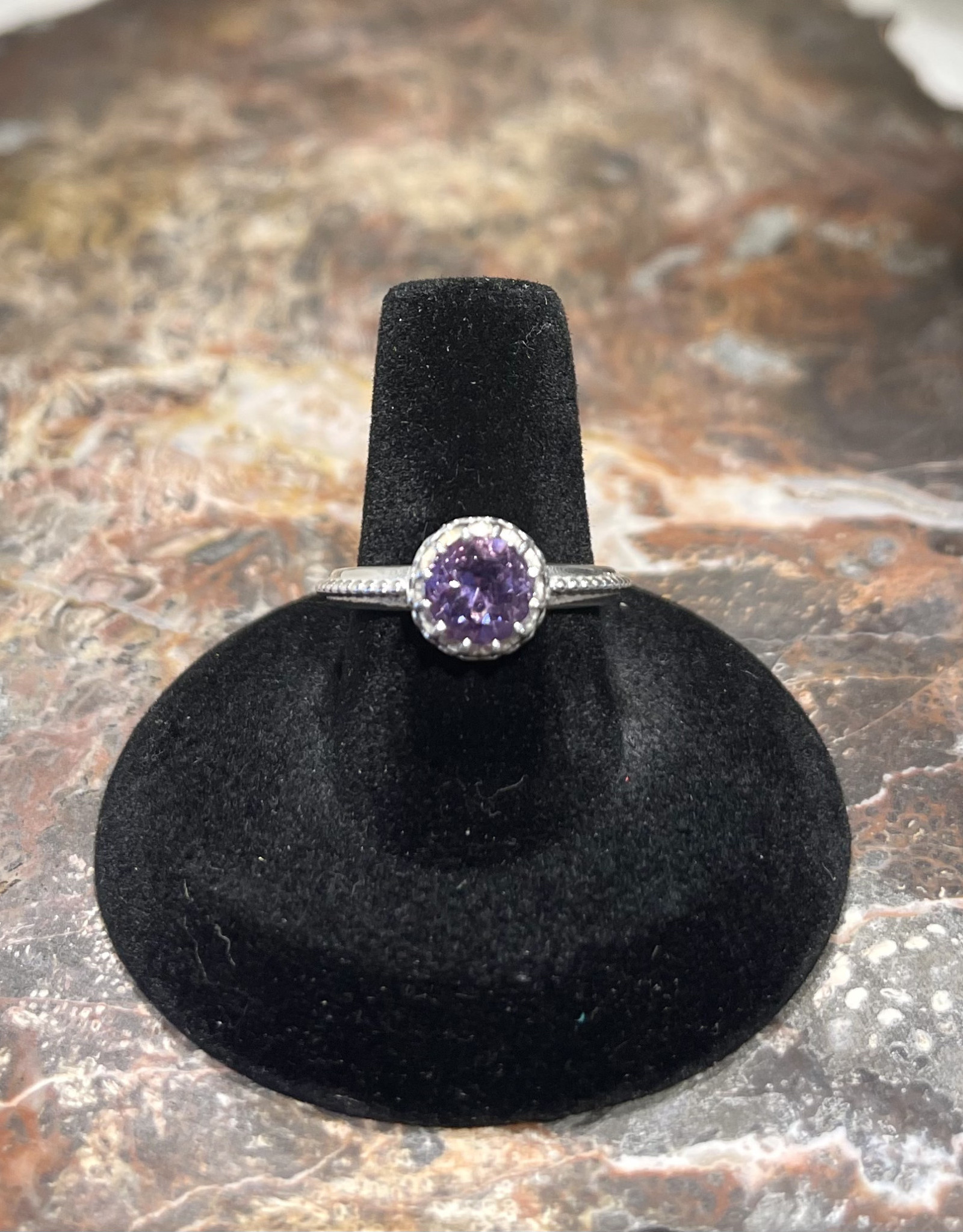 Jewelry - Amethyst Ring  .925   Size 5.5