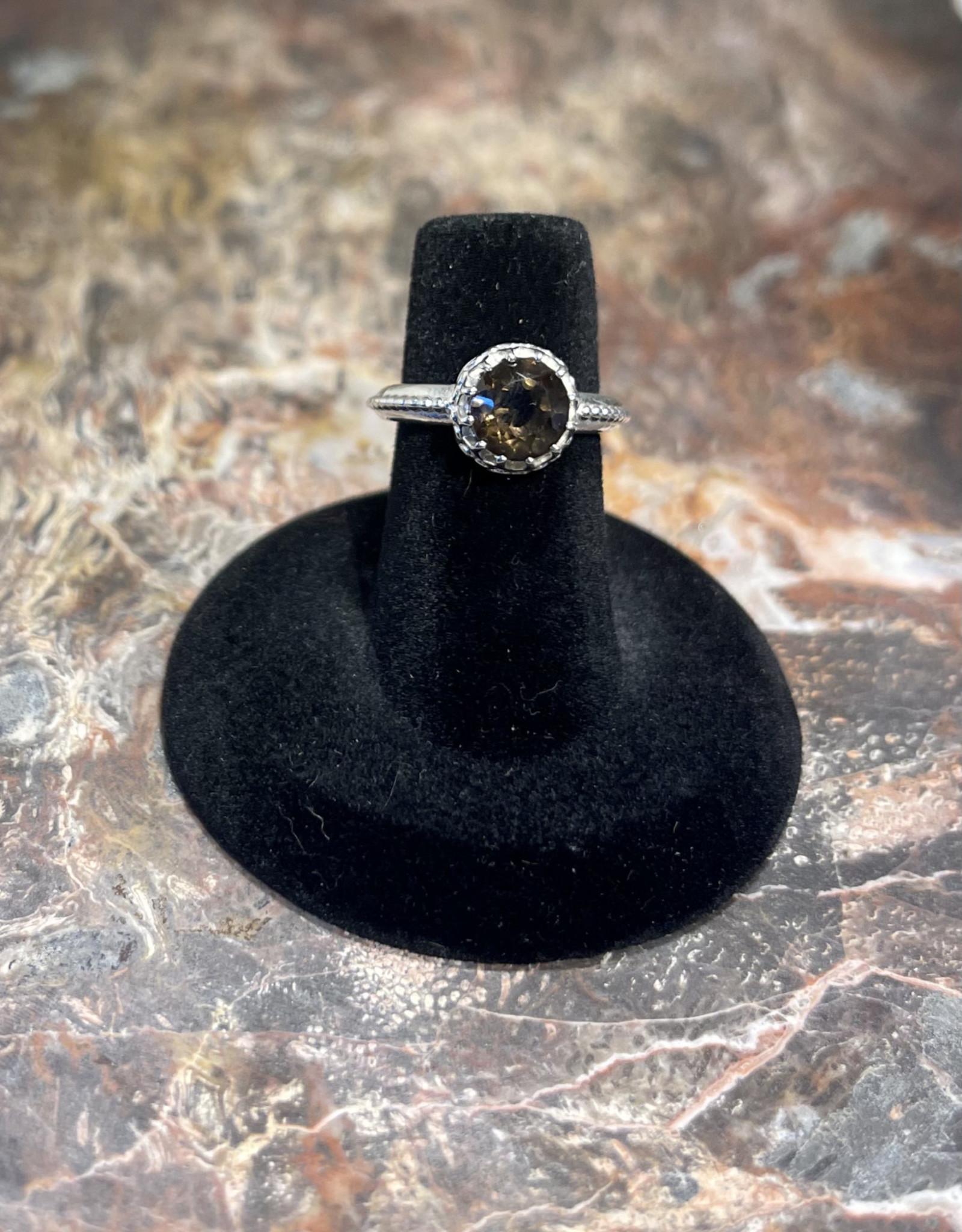 Jewelry - Brown Topaz .925 Sz 5.5
