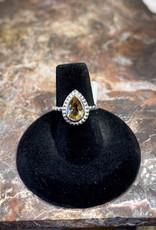 Jewelry - Yellow Citrine Ring  .925   Size 7