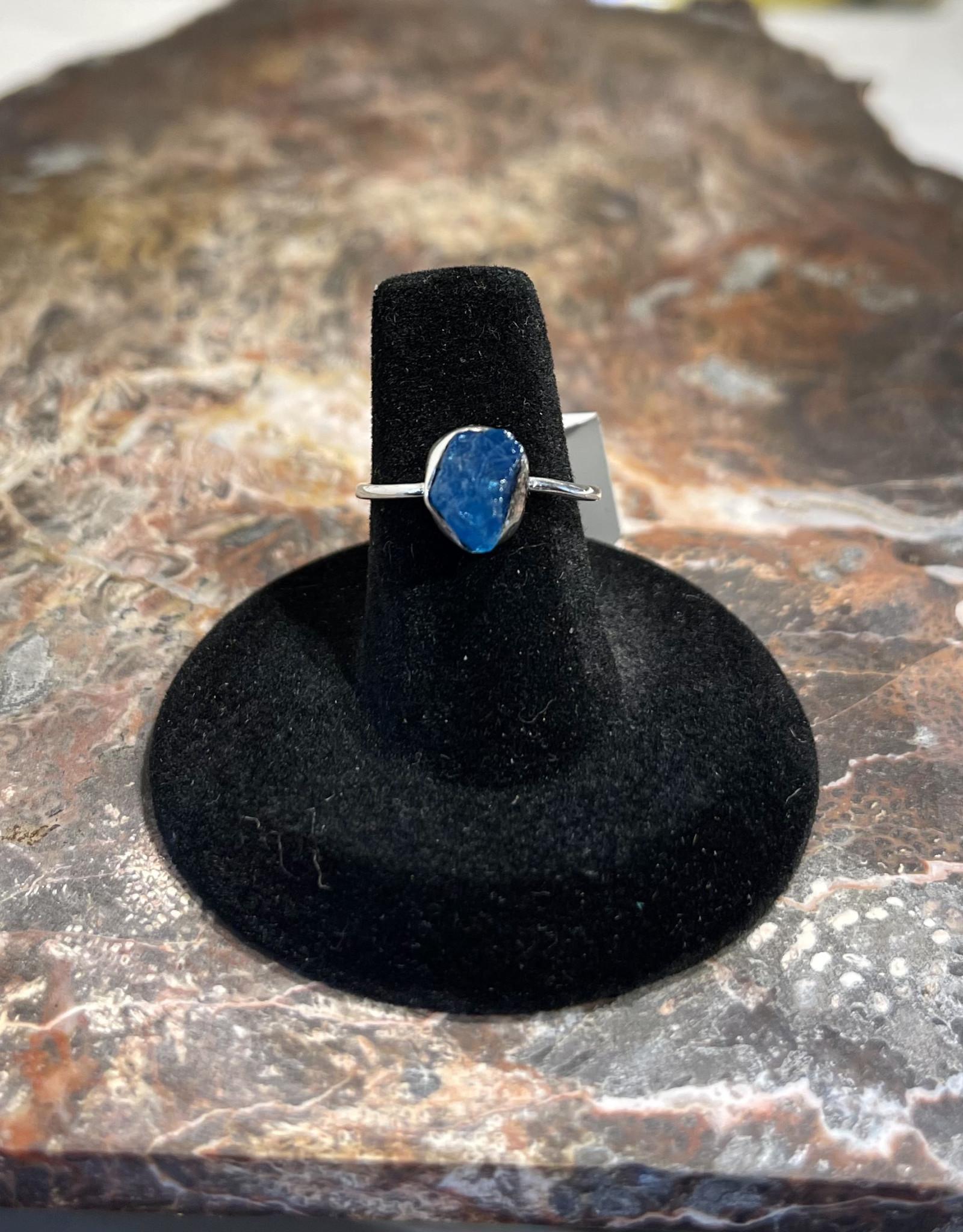 Jewelry - Rough Cut Zircon Ring   .925 Sz 7