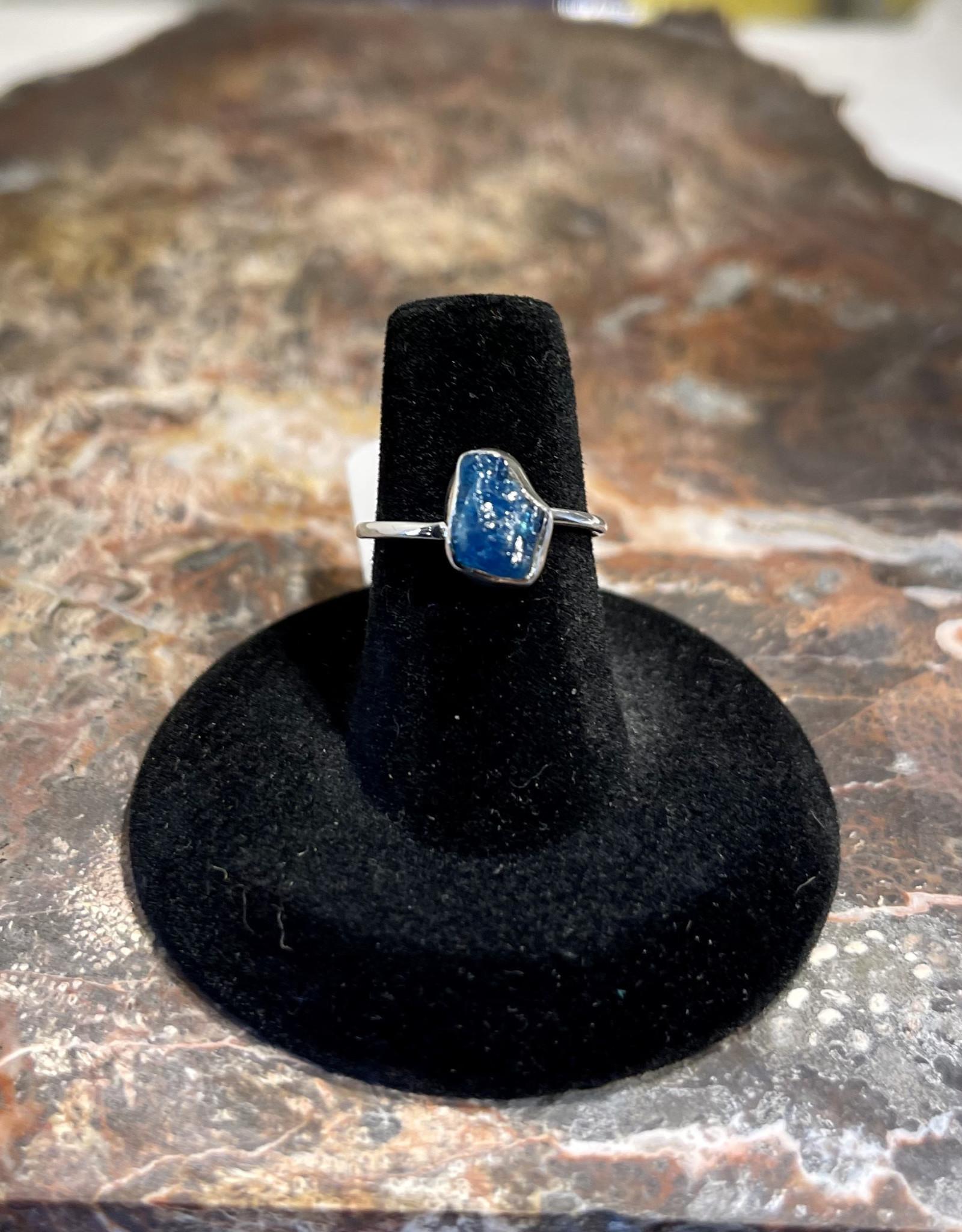 Jewelry - Rough Cut Zircon Ring   .925 Sz 6