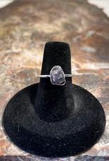 Jewelry - Rough Cut Amethyst Ring   .925 Sz 7