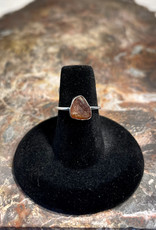 Jewelry - Rough Cut Brown Tourmaline .925  Sz 8