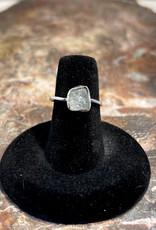 Jewelry - Rough Cut Quartz .925 Sz 6