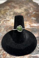 Jewelry - Rough Cut Jade  .925 Sz 7.5