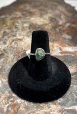 Jewelry - Rough Cut Jade  .925 Sz 7