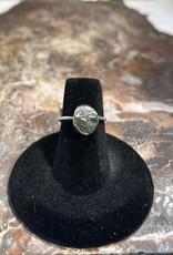 Jewelry - Rough Cut Green Peridot  .925 Sz 5.5