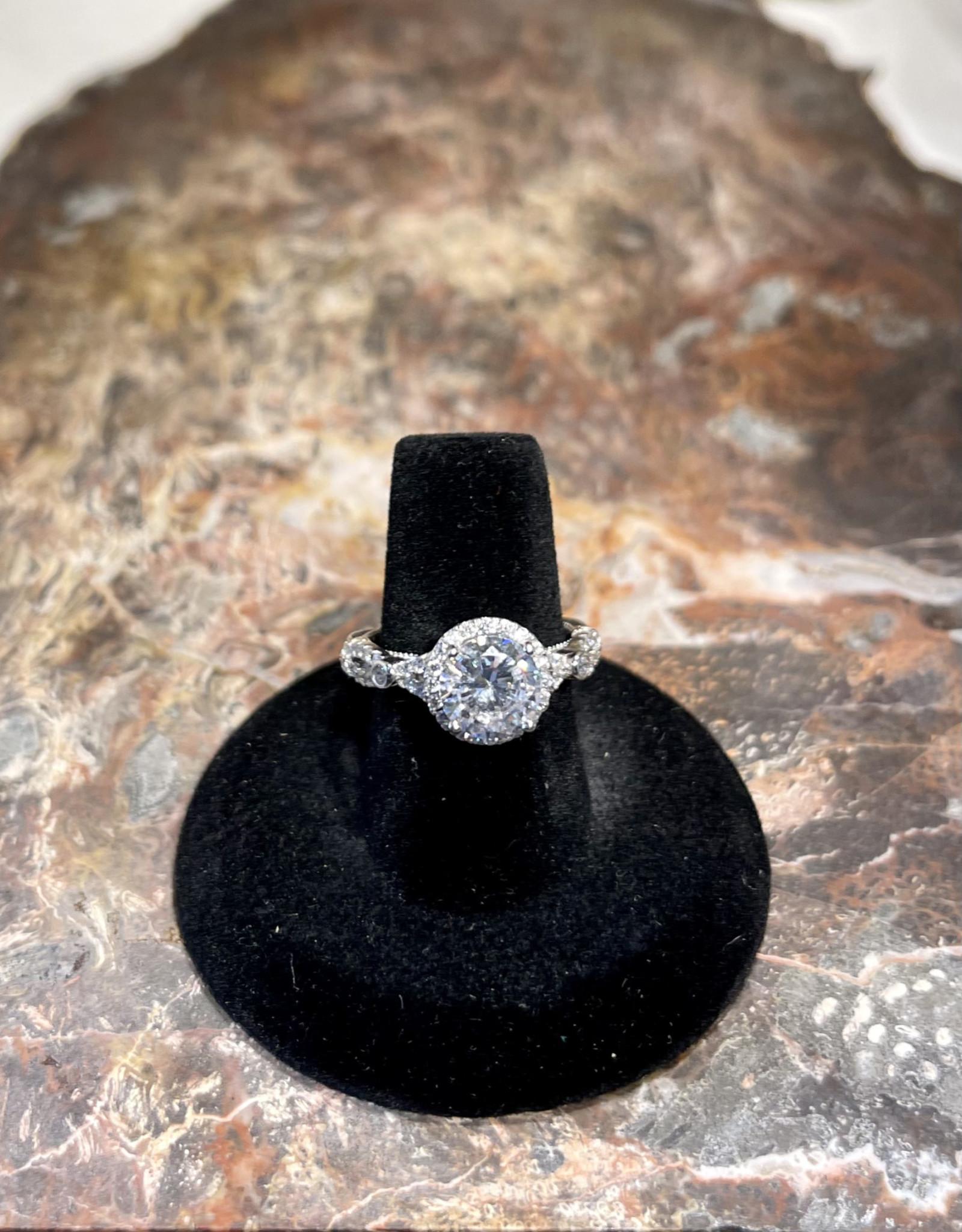Jewelry - Cubic zirconium .925 size7.5
