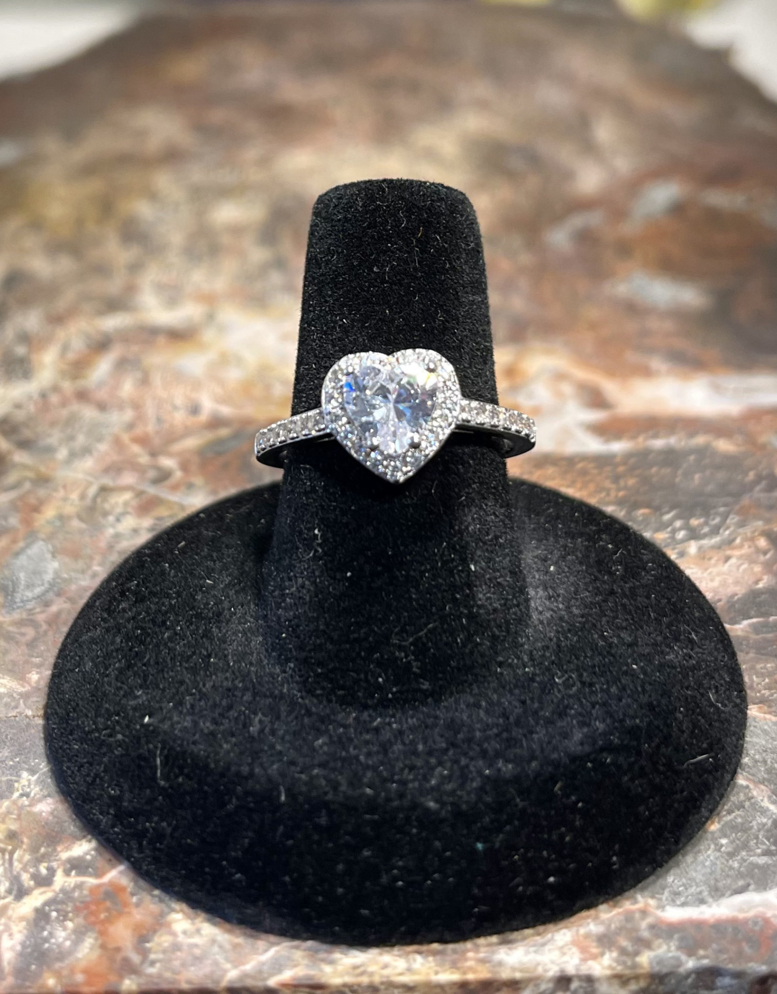 Jewelry - Moissanite Ring  .925  Sz8