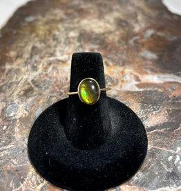 Jewelry - Ammolite Gold Ring Sz6.5