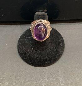 Jewelry - Amethyst ring .925 sz8