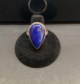 Jewelry - Blue Lapis Lazuli Ring .925 sz11.5