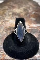 Jewelry - Labradorite Ring .925 Sz 7
