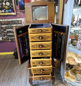 Purple Pigeon Treasures Italian Jewellery Box