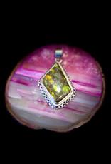 Jewelry - Ammolite Pendent .925