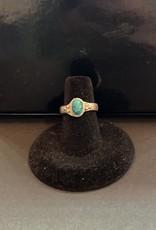 Jewelry - Turquoise ring .925 Sz6