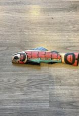 Purple Pigeon Treasures Salmon Carving