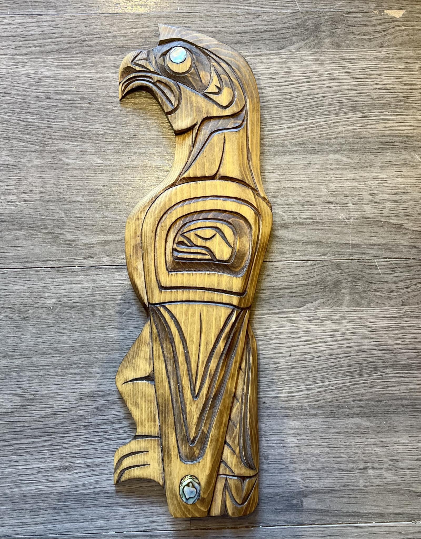 Purple Pigeon Treasures Eagle Carving