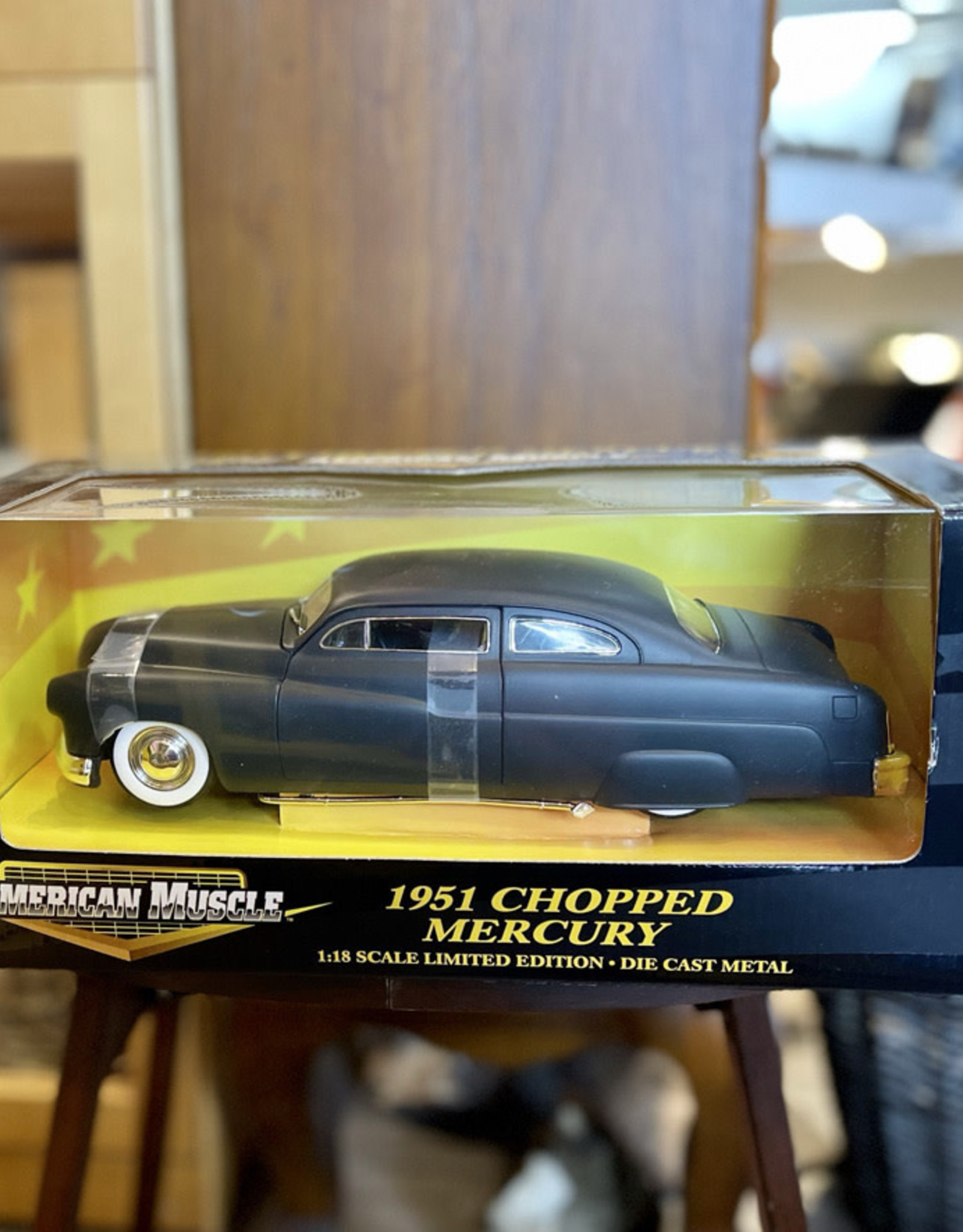 DieCast Car 1951 Chopped Mercury