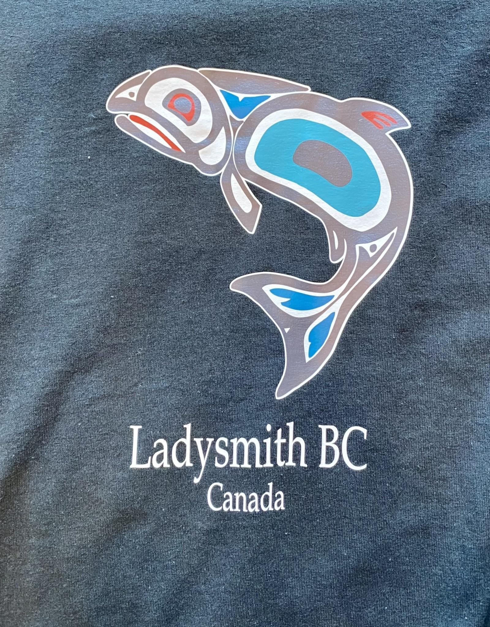 Clothing - T-Shirt Xl Black Salmon