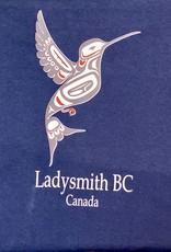 Clothing - T-Shirt Small Navy Blue Hummingbird