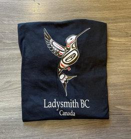 Clothing - T-Shirt Small Black Hummingbird