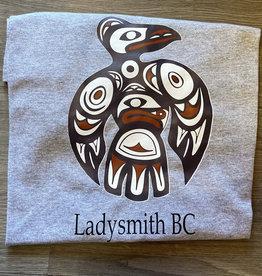 Clothing - T-Shirt Small Light Grey Loon