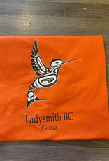 Clothing - T-Shirt Small Orange Hummingbird