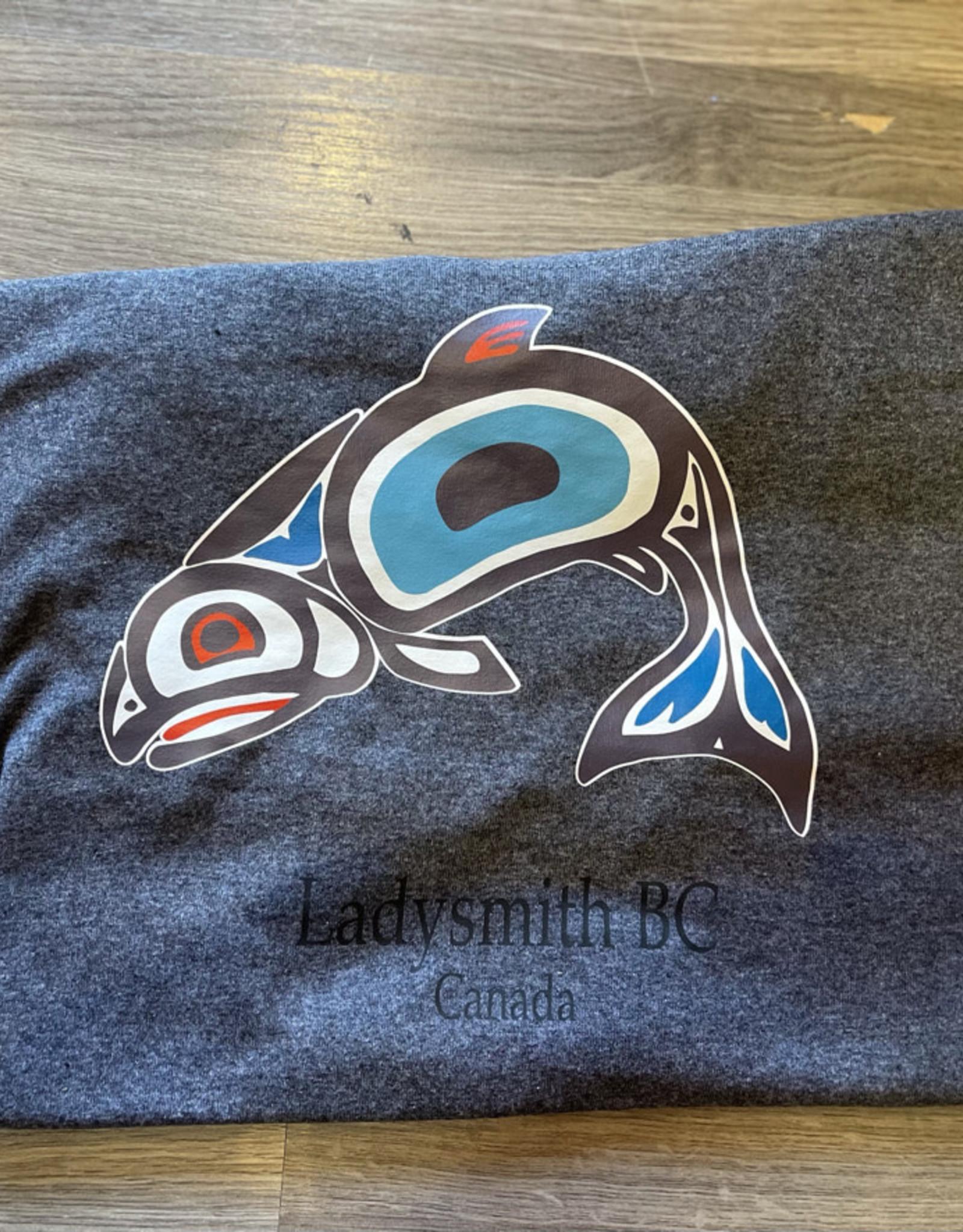 Clothing - T-Shirt Small Texture Grey Salmon