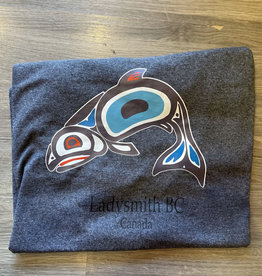 Clothing - T-Shirt Xl Texture Grey Salmon