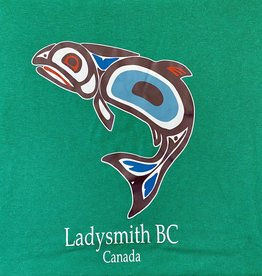 Clothing - T-Shirt Large Green Salmon