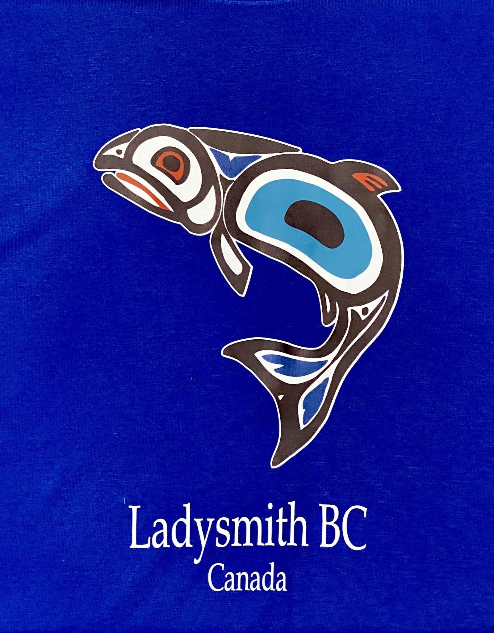 Clothing - Hoodies Med Blue Salmon