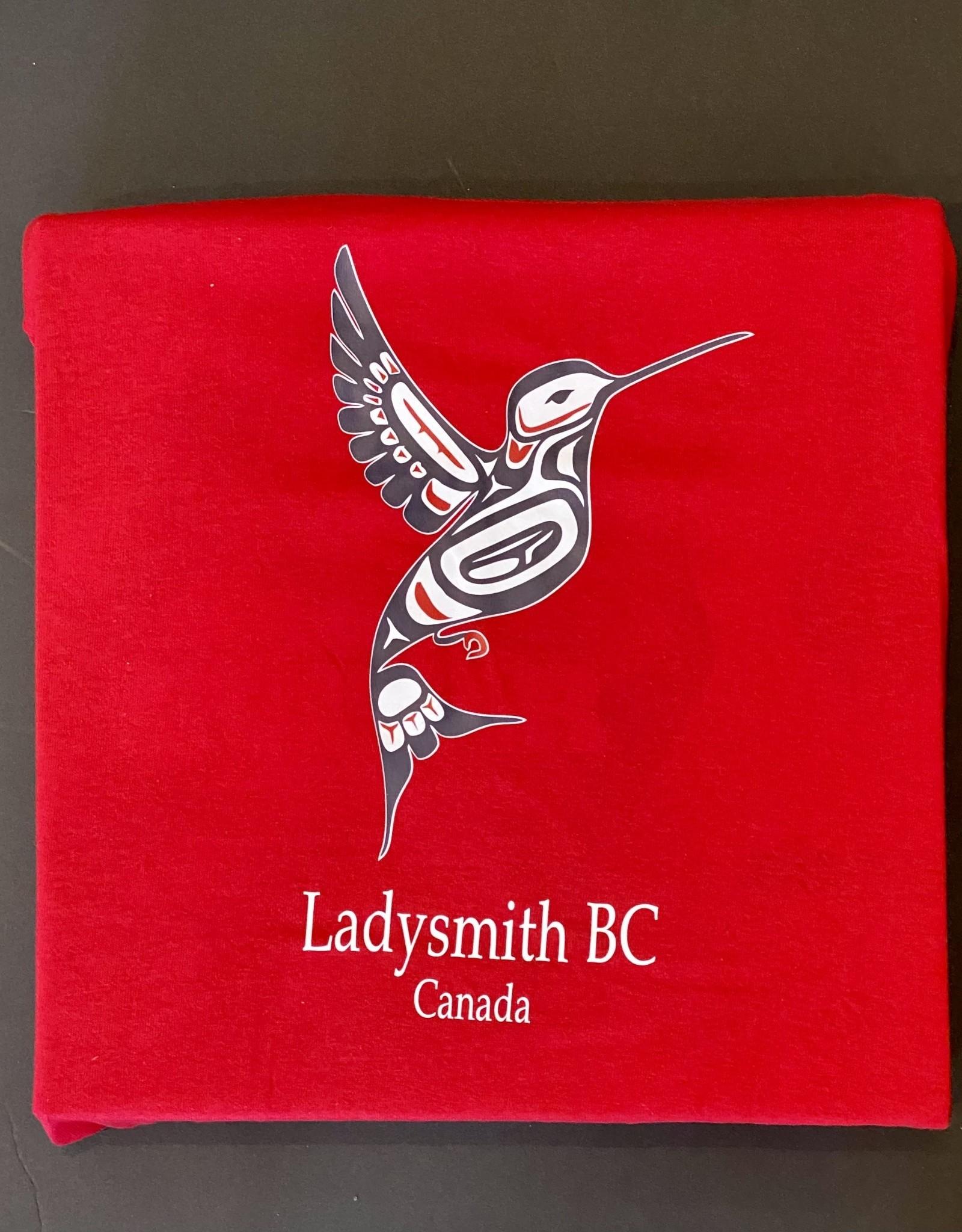Clothing - Hoodies Med Red Hummingbird