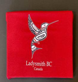 Clothing - Tank Tops Medium Red Hummingbird
