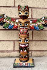 Aboriginal - Totem Pole - Thunder Bird & Bear