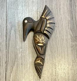 Aboriginal - 3D Hummingbird Carving