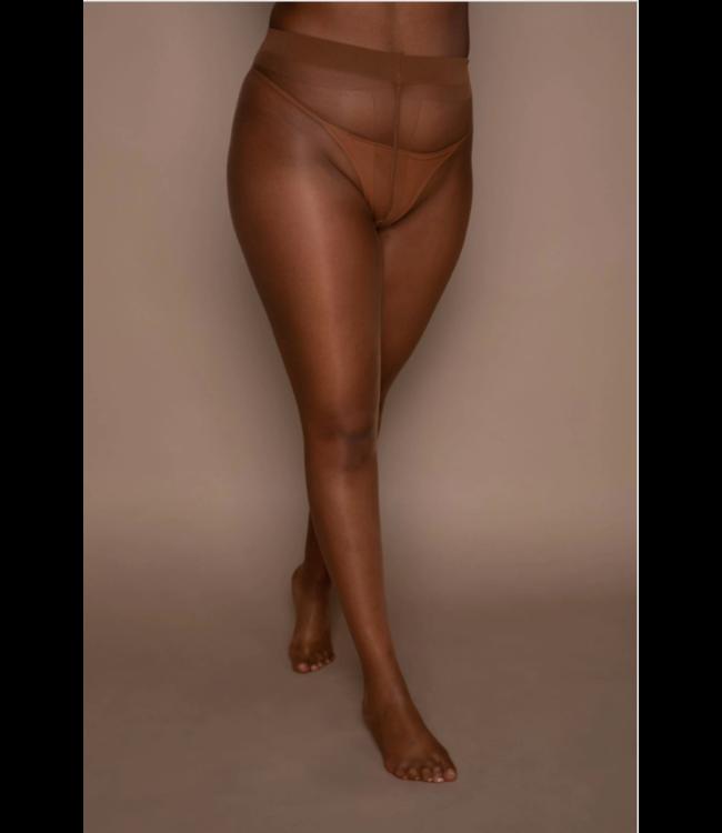 Nubian Skin Naked - Matt 10 Denier Tights