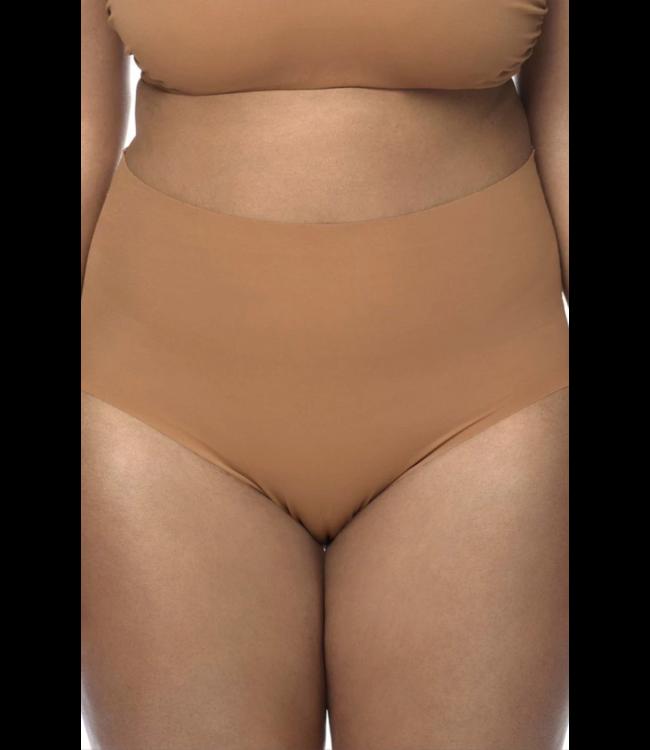 Nubian Skin Naked - High Waist Brief