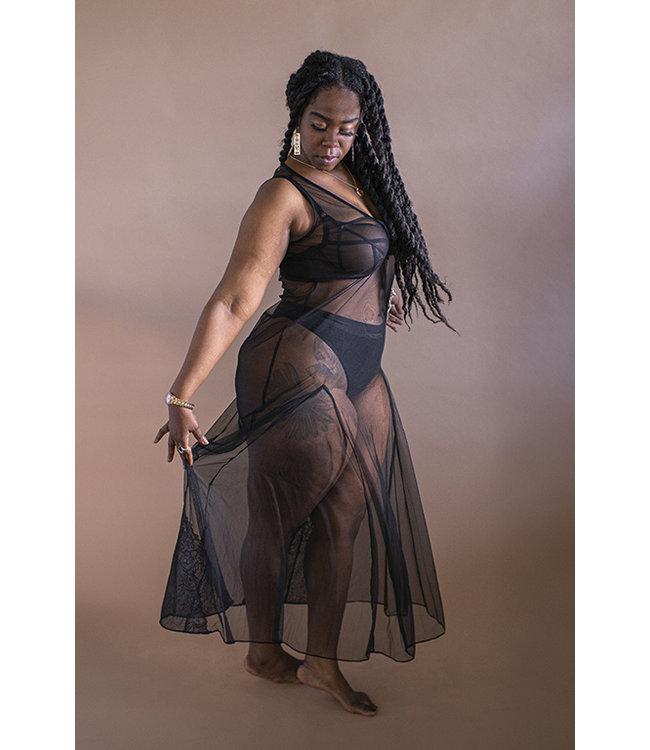 Anya Lust Goddess of Night Sheer Nightdress
