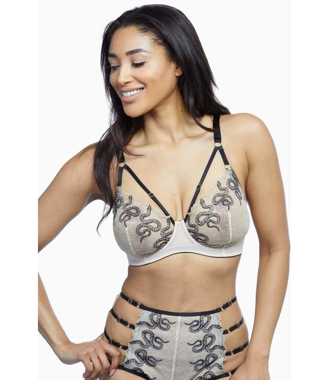 Playful Promises DAKOTA SNAKE  full bust bra