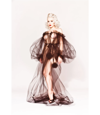 Dottie's Delights Marry and Bury tulle Robe