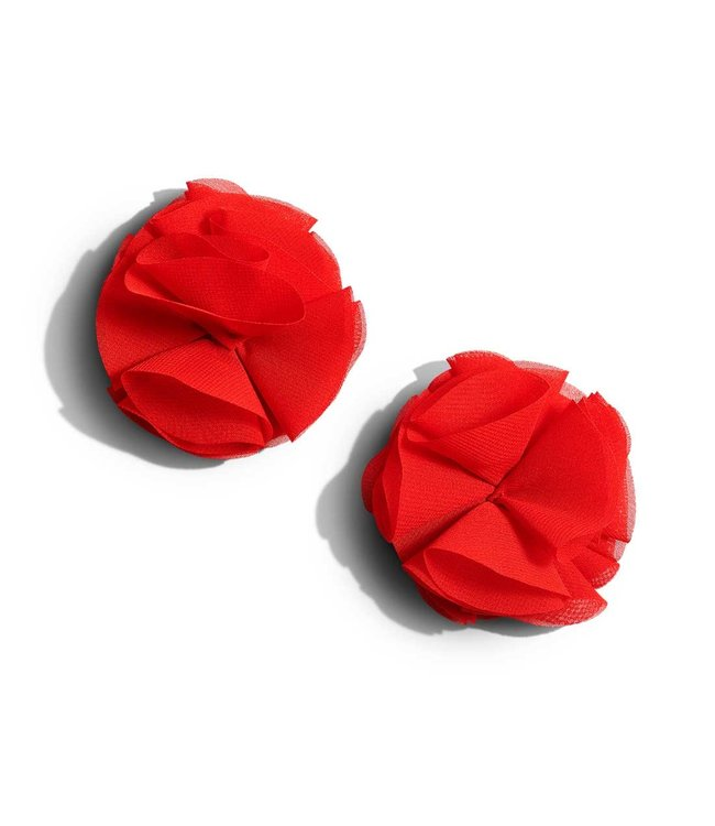 Bristols6 Red Ribbon Roses Pasties