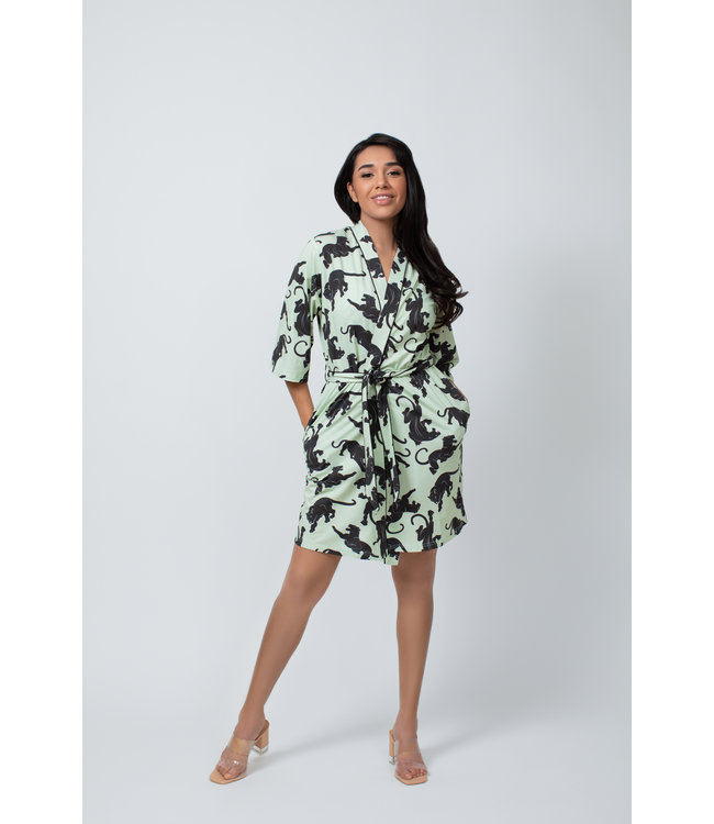 Kilo Brava Mint Jaguar short robe