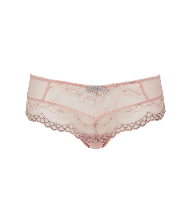 Gossard Superboost Lace Short - Ballet Pink